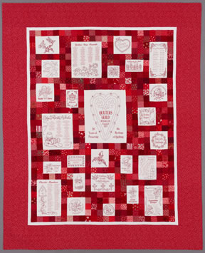 keeper quilt, 20th anniversary