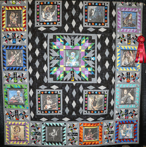 shredders by gwendolyn schindler, artisan division large pieced, dallas quilt show 2020