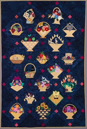 keeper quilt, baskets full