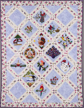 keeper quilt, birds of a feather
