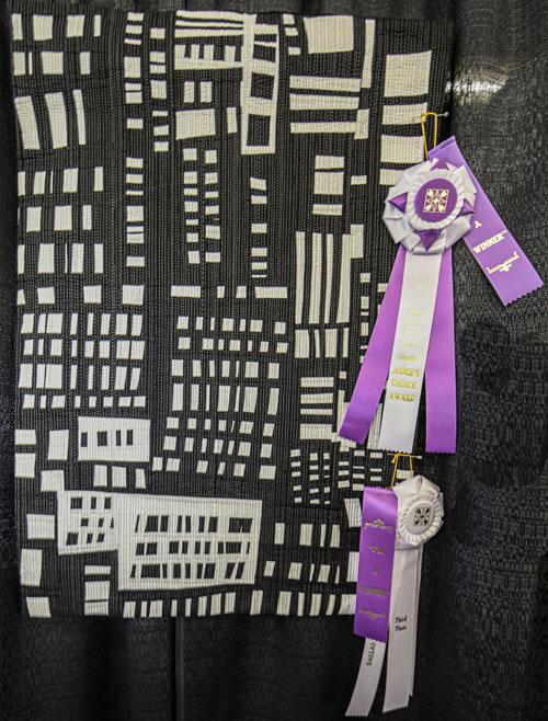 judges choice awards, manhattan by heather pregger, dallas quilt show 2020