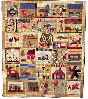 keeper quilt, dallas past
