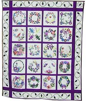 keeper quilt, dallas wreaths
