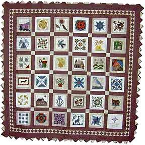 keeper quilt, lifes little pleasures