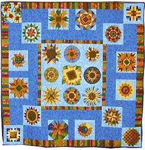 keeper quilt, sunflower