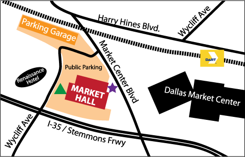 dallas market hall parking for dallas quilt show