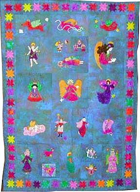 keeper quilt, myrtles friends