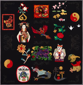 keeper quilt, oriental expressions