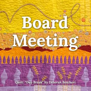 quilters guild of dallas board meeting