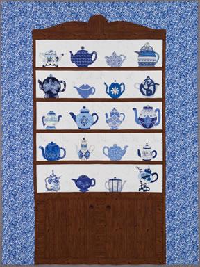 keeper quilt, teapots