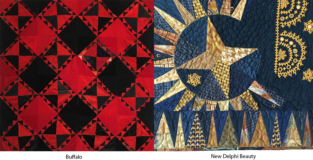 silk and salvage quilts