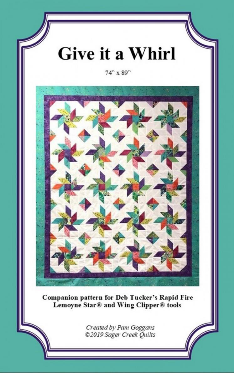 quilting workshop, give it a whirl, pam goggans